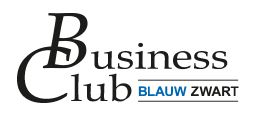Business Club Blauw Zwart